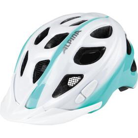 Alpina Rocky - Casco de bicicleta Niños - blanco/Turquesa